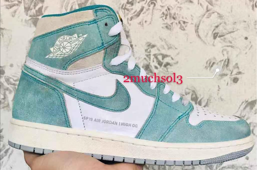 23c5fe8092a5e The Air Jordan 1 will get more new colorways in 2019. One of the first will  be the Air Jordan 1 Retro High OG Turbo Green. Here is a first look at  colorway ...