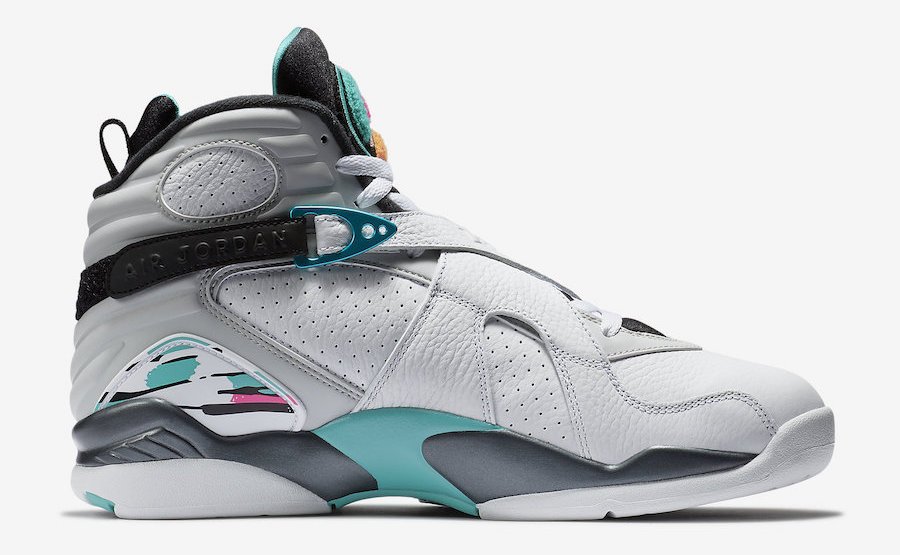 77619ff25f9 You can pick up the Air Jordan 8 South Beach for $190 at select Jordan  Brand retailers and online starting October 13th