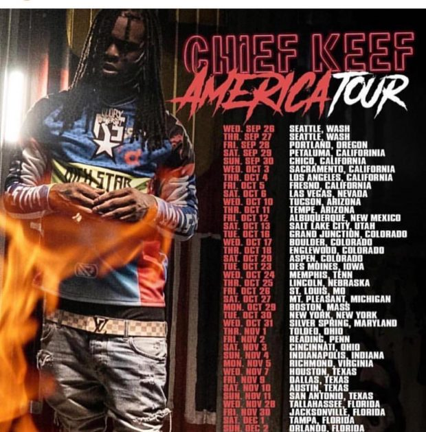 chief keef america tour dates