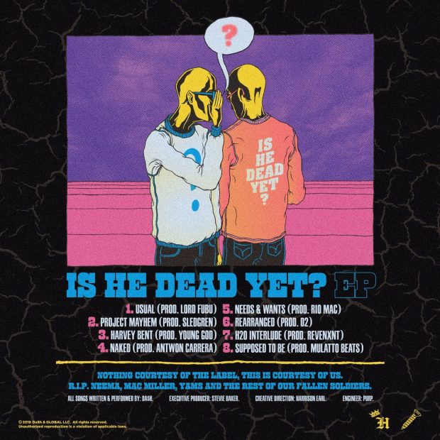 dash is he dead yet tracklist
