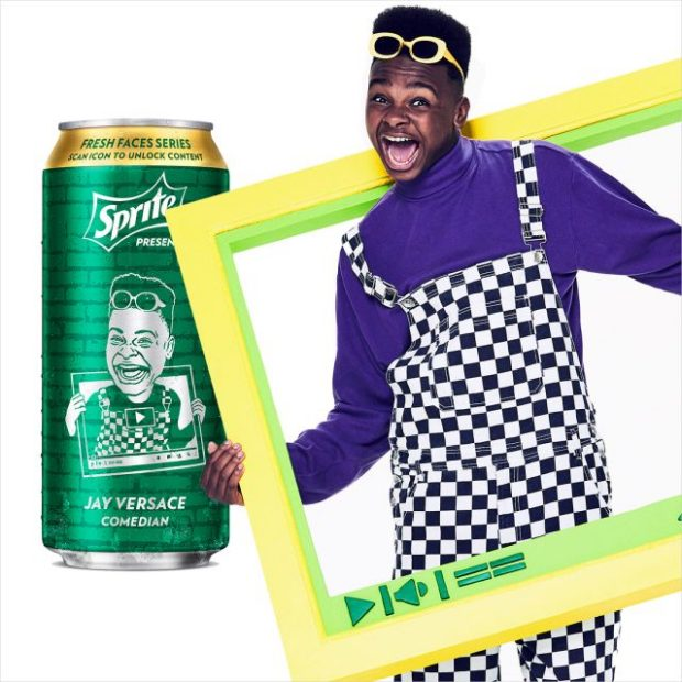 jay versace sprite fresh faces series can