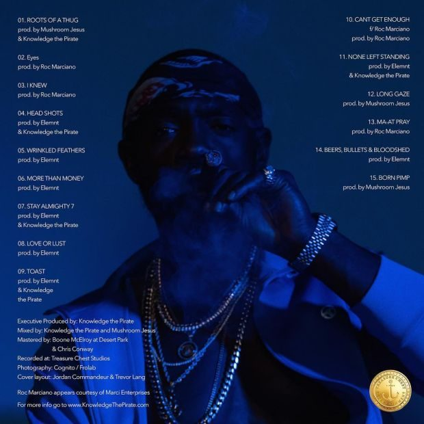 knowledge the pirate flintlock tracklist