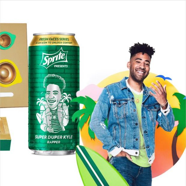 kyle sprite fresh faces series can