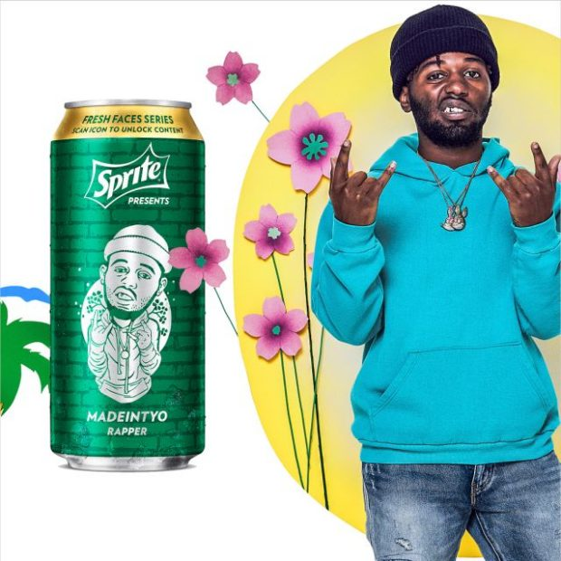 madeintyo sprite fresh faces series can