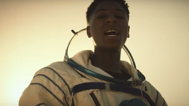 nba youngboy astronaut kid video