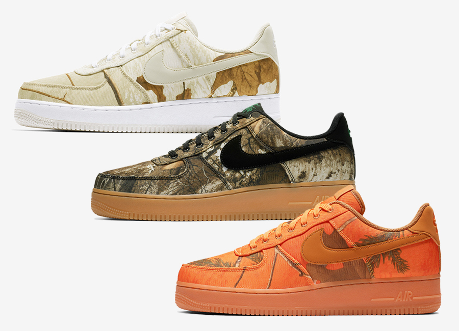 REALTREE X NIKE AIR FORCE 1 Limited Edition