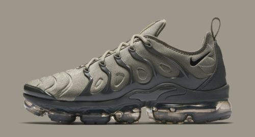 on sale 85239 094a3 The latest colorway Nike Air VaporMax Plus will be the Dark Stucco with a  military-inspired theme. Featuring a compression molded upper the VaporMax  ...